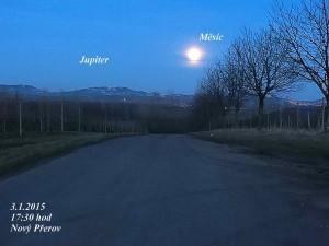 Jupiter_Měsíc